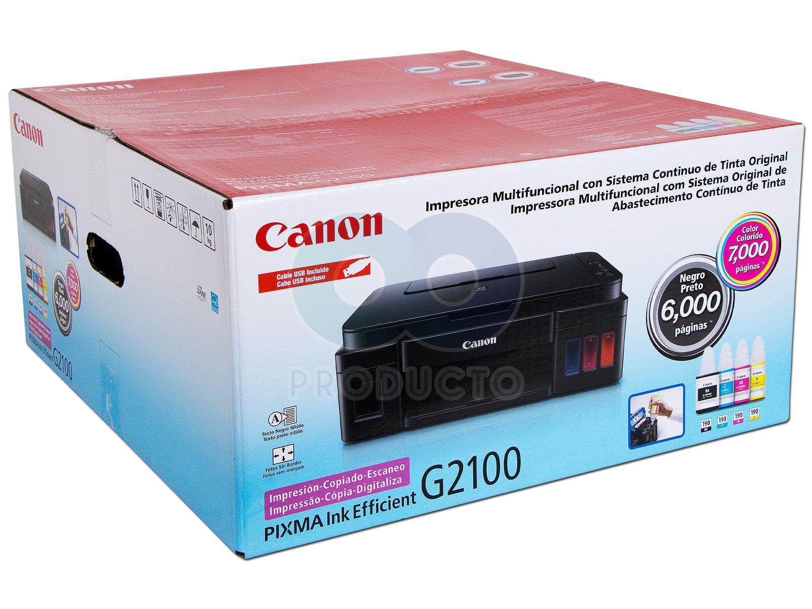 Multifuncional Canon Pixma G2100 Resoluci 243 N Hasta 4800 X