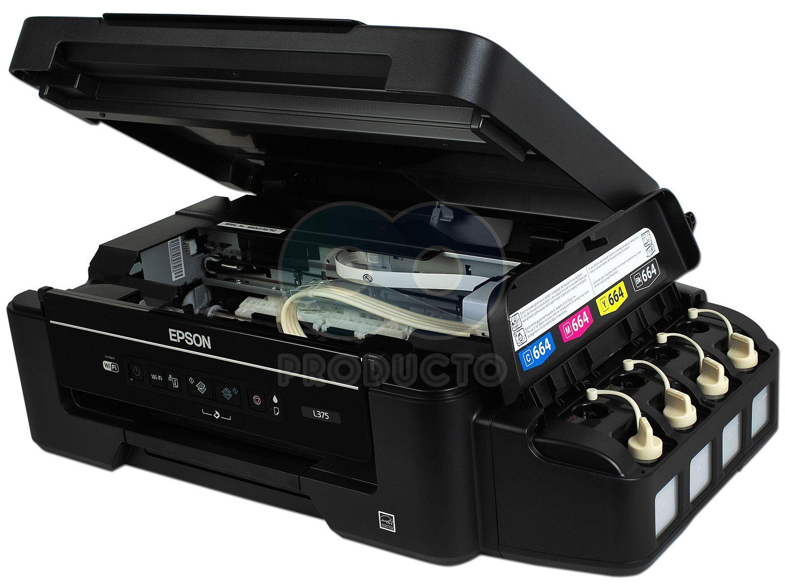 Multifuncional Epson Ecotank L375 Impresora Copiadora Y