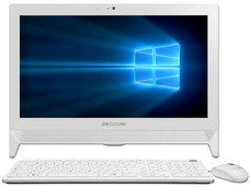 All in One Lenovo Ideacentre C20-00, CPU Intel Celeron J3060 (hasta 2.48 GHz), RAM 2GB DDR3L, D.D. 500GB, Gráficos Intel HD Graphics 400, Pantalla 19.5