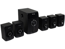 Bocinas Vorago SPB-500 Surround Sound 5.1 con Bluetooth.
