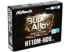 T. Madre Asrock H110M-HDV, ChipSet Intel H110, Soporta: Intel Core i7/Core i5/Core i3/Pentium/Celeron de Socket 1151, Memoria: DDR4 2133 MHz, 32GB Max, SATA 3.0, USB 3.0, Integrado: Audio HD, Red Gigabit, Micro-ATX.