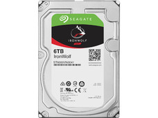 Disco duro Seagate IronWolf  de 6TB, 7200 RPM, 128MB, SATA III (6GB/s) para NAS.
