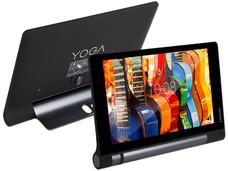 Tablet Lenovo Yoga Tab 3 (ZA0B0004MX): Red Inalámbrica 4G, Procesador Qualcomm (1.1 GHz), Memoria RAM de 1 GB, Almacenamiento de 16GB, Pantalla IPS de 8'' (1280x800), Red 802.11b/g/n, Cámara Rotativa, Android 5.1.