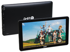 Tablet GHIA ANY 10.1 (4104116N): Procesador Quad Core (1.3GHz), Memoria RAM de 1GB, 16 GB de memoria interna, Soporta micro SD, Pantalla LED Multitouch de 10.1