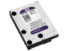 Disco Duro para Videovigilancia Western Digital Purple de 2 TB, IntelliPower RPM, 64MB, SATA III (6 Gb/s)