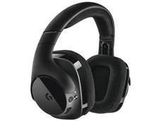 Audífonos con Micrófono Logitech G533 Wireless con tecnología DTS sonido envolvente 7.1, Inalámbrico USB.