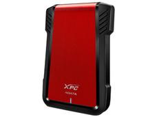 Gabinete A-Data AEX500U3-CRD para SSD ó HDD de 7mm y 9.5mm, Convierte tu SSD (SATA) en un Disco Externo USB 3.0. Color Rojo.