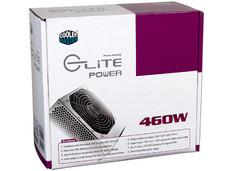 Fuente de Poder Cooler Master Elite Power de 460W.