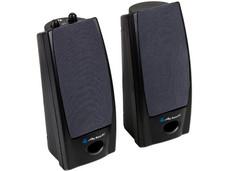 Bocinas Acteck Multimedia AX-2500 de 300 Watts PMPO, Color Negro.
