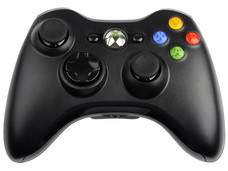 Control Inalámbrico para Xbox 360 y PC con Windows, USB 2.0. Color Negro