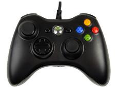 Control para Xbox 360 y PC con Windows, USB 2.0. Color Negro