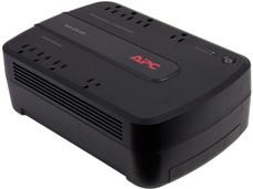Back-UPS APC BE650G1-LM de 650VA (390WATTS) con 8 contactos NEMA 5-15R, USB.