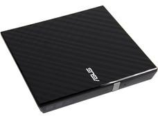 Quemador Externo Slim ASUS, USB 2.0, no necesita cable de alimentación, DVD+RW: Graba/Regraba/Lee: 8x/8x/8x, DVD+R DL: Graba 8X, DVD-R DL: Graba 8X, DVD-RW: Graba/Regraba/Lee: 8x/6x/8x, CD-RW: Graba/Regraba/Lee: 24x/24x/24