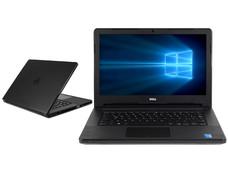 Notebook DELL Vostro 14-3458: CPU Intel Core i3 4005U (1.7 GHz), D.D. 1TB, RAM 8GB DDR3L, Gráficos Intel HD graphics 4400, Pantalla 14