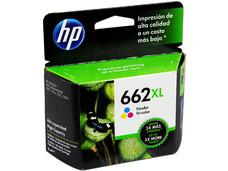 Cartucho de Tinta HP 662XL Tricolor, Modelo: CZ106AL