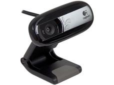 Cámara Web Logitech c170, Resolución de 640x480, Micrófono integrado.