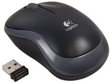 Mouse Logitech m185 Óptico Inalámbrico, USB.