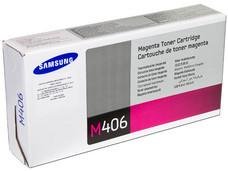 Cartucho de Tóner Samsung, Magenta, Modelo: CLT-M406S.