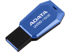 Unidad Flash USB 2.0 ADATA DashDrive UV100 de 16GB.