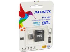 Memoria ADATA Premier microSDHC UHS-1 de 32 GB, clase 10, incluye adaptador SD.