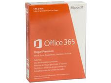 Microsoft Office 365 Hogar Premium (5 Usuarios + 3 Dispositivos PC/Mac, 1 Año de suscripción para un hogar)