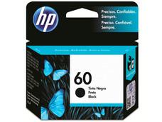 Cartucho de Tinta HP 60 Negro, Modelo: CC640WL.