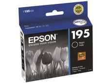 Cartucho de Tinta Epson 195 Negro, Modelo: T195120