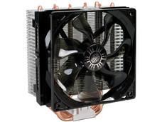 Disipador y Ventilador Cooler Master Hyper T4, soporta Socket Intel 2011, 1366, 1156, 1155, 1150, 775, AMD FM1, FM2, AM3+, AM3, AM2+ y AM2