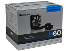 Sistema de enfriamiento líquido Corsair Hydro H60, 120mm.