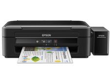 Multifuncional Epson EcoTank L380, Impresora, Copiadora y Escáner, Sistema de Tanques de Tinta, USB.
