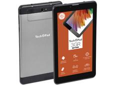 Tablet TechPad 3GR: Red Inalámbrica 3G, Procesador Quad Core (1.30 GHz), Memoria RAM de 1GB , Almacenamiento de 16GB, Pantalla Multi-Touch de 7