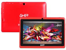 Tablet GHIA Any QUATTRO Bt 47418R con Procesador Cortex A33 Quad Core 1.5GHz, Android 5.1, Wi-Fi, 2 Cámaras, Pantalla Multi-touch de 7