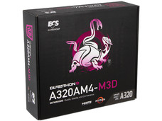 T. Madre ECS A320AM4-M3D, Chipset AMD A320, Soporta: Serie A de AMD Ryzen / Athlon / 7th Generación, Socket AM4, Memoria: DDR4 2667 / 2400 / 2133 MHz, 32GB Max, Integrado: Audio HD, Red, USB 3.0, SATA 3.0, Micro-ATX, Ptos: 1xPCIE 3.0 x16.
