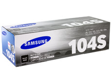 Cartucho de Tóner Samsung 104 Negro, Modelo: MLT-D104S.