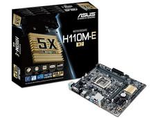 T. Madre ASUS H110M-E/M.2, ChipSet Intel H110, Soporta: Intel Core i7/Core i5/Core i3/Pentium/Celeron de Socket 1151, Memoria: DDR4 2133 MHz, 32GB Max, SATA 3.0, USB 3.0, Integrado: Audio HD, Red Gigabit, Micro-ATX.