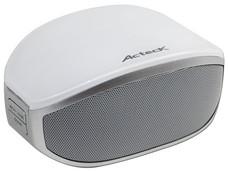 Bocina portátil Acteck Óvalo, recargable, manos libres, Bluetooth.