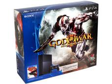 Consola Sony PlayStation 4 con juego God Of War Remasterizado.