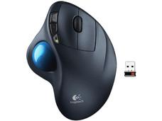 Mouse Láser Inalámbrico Logitech Trackball m570, USB.