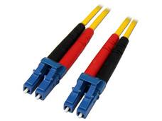 Cable de Red Dúplex Monomodo de Fibra Óptica LC-LC 9/125, 1m.