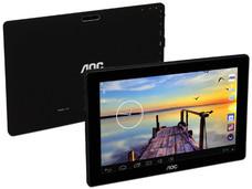 Tablet AOC Premium U107, Procesador Intel Atom Z3735G (1.8GHz), Memoria RAM de 1GB, Almacenamiento de 32GB, Pantalla Multitouch de 10.1