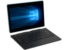 Laptop 2 en 1 Techpad DUO 1164: Procesador Intel Atom Z8350 (Hasta 1.92 GHz), Memoria de 2GB LPDDR3, Almacenamiento de 64GB, Pantalla de 11.6