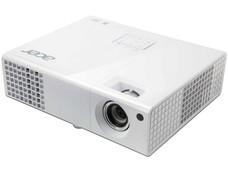 Proyector Acer X1173, Resolución de 800 x 600 y 3000 ANSI-Lumens, 3D ready.