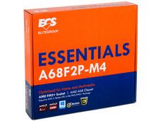 T. Madre ECS A68F2P-M4, ChipSet AMD A68H Exp., Soporta: AMD de las series A y E de Socket FM2+, Memoria: DDR3 1866(O.C.)/1600/1333 MHz, 16 GB Max, SATA 3.0, USB 3.0, HDMI, Integrado: Audio HD, Red, Micro-ATX, Ptos: 1x PCIE 3.0x16, 1x PCIE 3.0x1