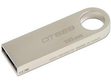 Unidad Flash USB 2.0 Kingston DataTraveler SE9 con Elegante y Moderno Diseño de Metal de 16GB.