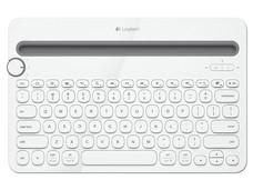 Teclado Bluetooth Logitech K480, Multidispositivo. Color Blanco.