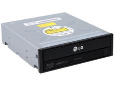 Quemador LG de Blu-ray, DVD y CD, SATA: BD-R 16x, BD-RE 2x, DVD-R 16x, DVD+R DL: 8x, DVD-R DL: 8x, CD-R: 48x, CD-RW: 24x, OEM.