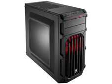 Gabinete Corsair Mid-tower Carbide SPEC-03 Red LED, ATX, (sin fuente de poder)