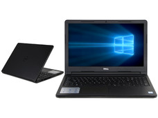 Notebook DELL Inspiron 15-3567: CPU Intel Core i3 6006U (2.0 GHz), D.D. 1TB, RAM 4GB DDR4, Gráficos Intel HD Graphics 520, Pantalla 15.6