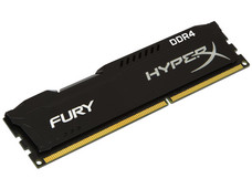 Memoria Kingston HyperX Fury DDR4, PC4-19200 (2400MHz), CL15, 4 GB.