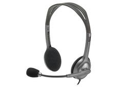 Audífonos con micrófono Logitech Stereo Headset h111.